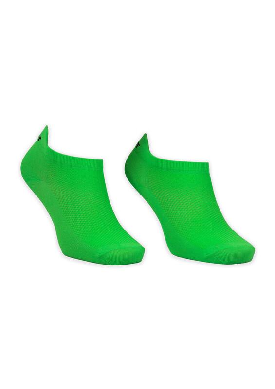 GÜLÇEK - Neon Renkli Kadın Çorap | Yeşil
