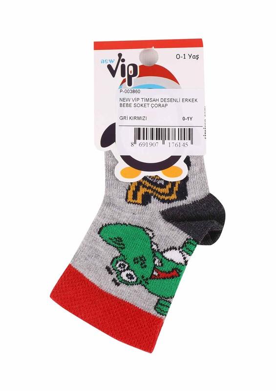 NEW - New Vip Soket Çorap 503 | Gri