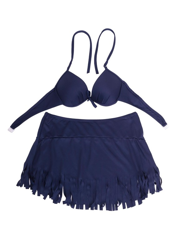 NİL - Nil May Bikini Takımı 890 | Lacivert