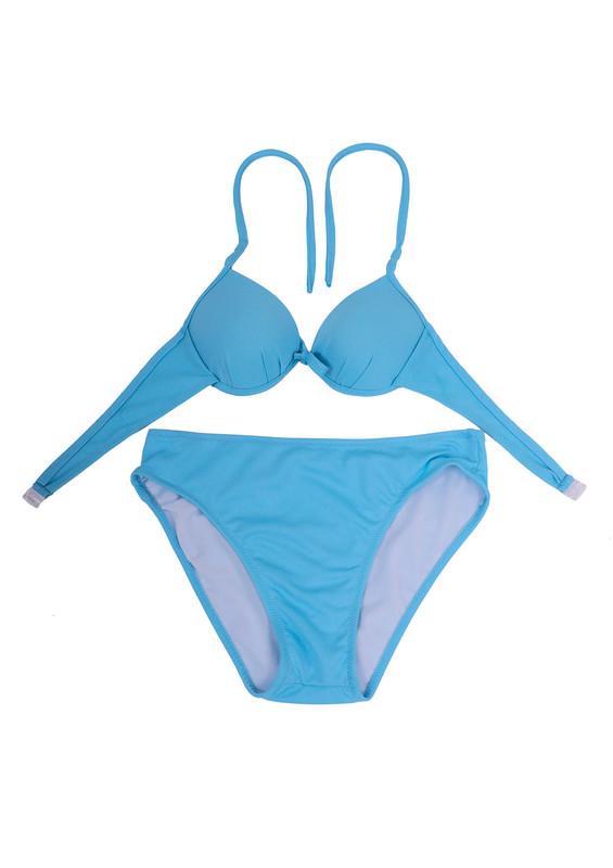SİMİSSO - Nil May Bikini Takımı 890 | Mavi