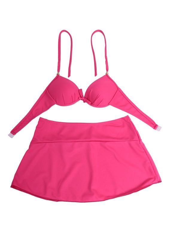 SİMİSSO - Nil May Bikini Takımı 891 | Pembe