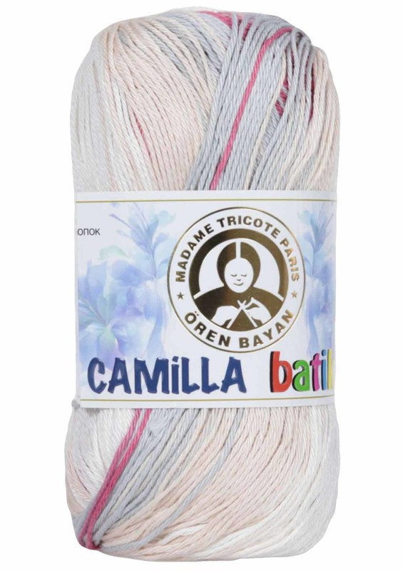 ÖREN BAYAN - Ören Bayan Camilla Batik El Örgü İpi 109