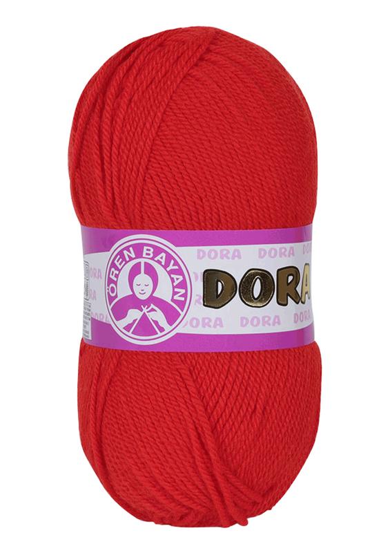 ÖREN BAYAN - Ören Bayan Dora El Örgü İpi Kırmızı 032