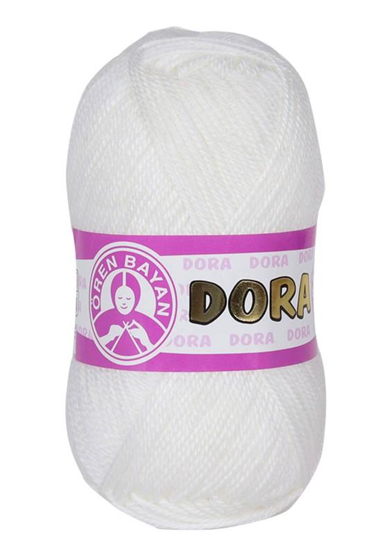 ÖREN BAYAN - Ören Bayan Dora El Örgü İpi Beyaz 100
