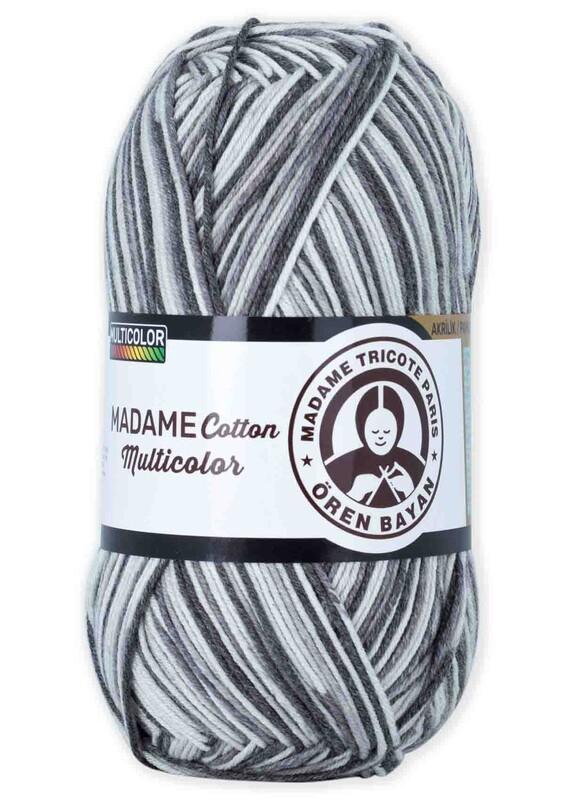 ÖREN BAYAN - Ören Bayan Madame Cotton Multicolor El Örgü İpi 100 gr | 452