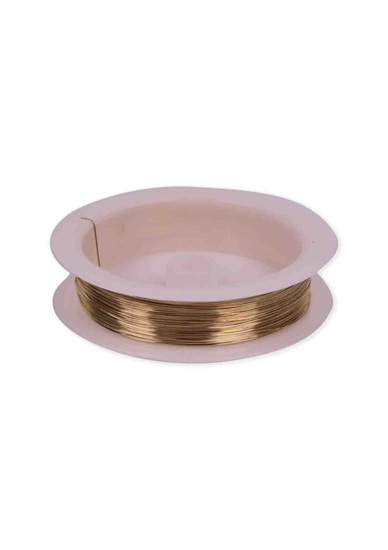SİMİSSO - Renkli Çelik Tel 3 mm | Altın