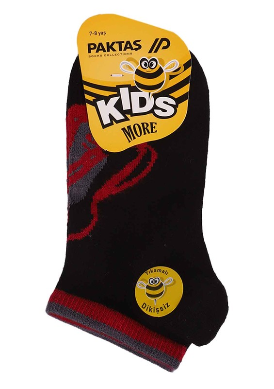 PAKTAŞ - Paktaş Babet Çorap 487 | Siyah