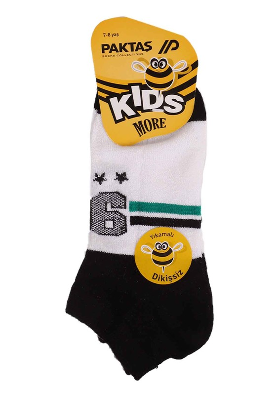 PAKTAŞ - Paktaş Babet Çorap 847 | Siyah