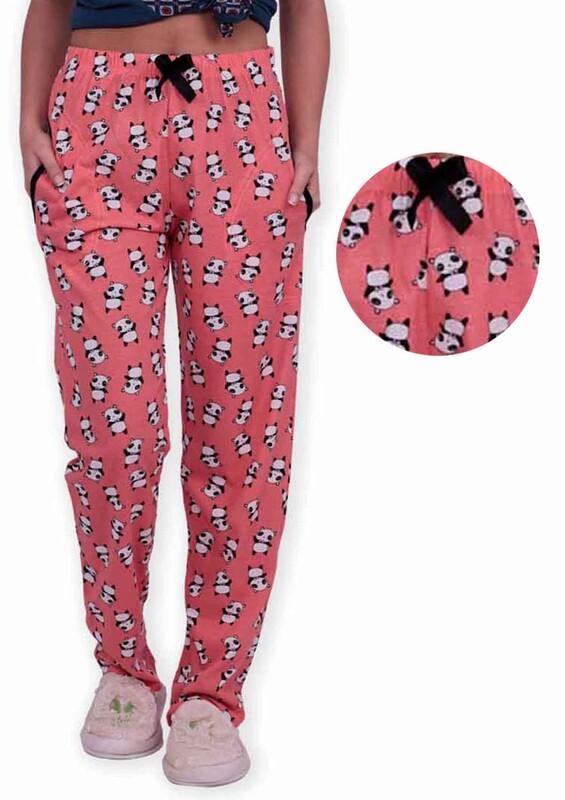 SİMİSSO - Panda Baskılı Kadın Pijama Altı | Yavru Ağzı