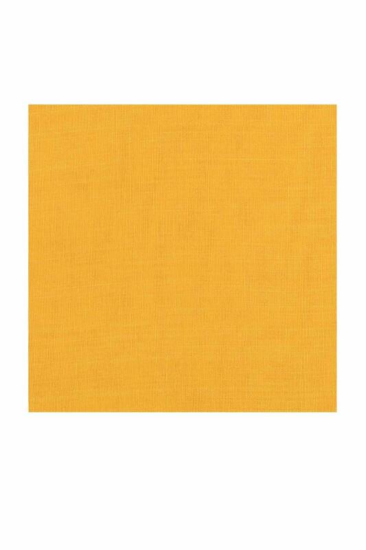 PAYİDAR İPEK - Payidar İpek Dikişsiz Düz Yazma 100 cm | Bebe Sarı 450