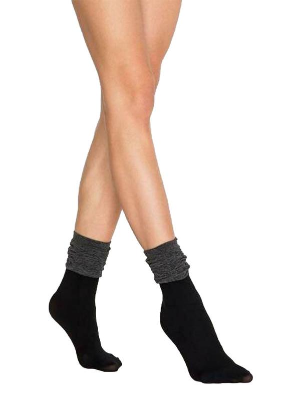 PENTİ - Penti Degaje Soket Çorap | Siyah