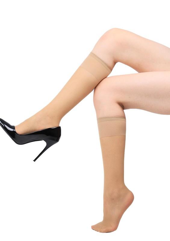 PENTİ - Penti Desenli Tül Pantolon Çorap | Ten