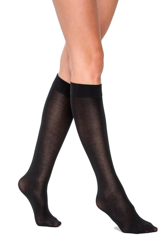 PENTİ - Penti Lastikli Bambu Siyah Pantolon Çorap | Siyah