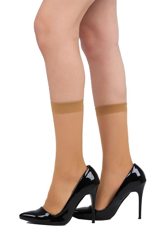 PENTİ - Penti Süper Mat İnce Soket Çorap | Ten