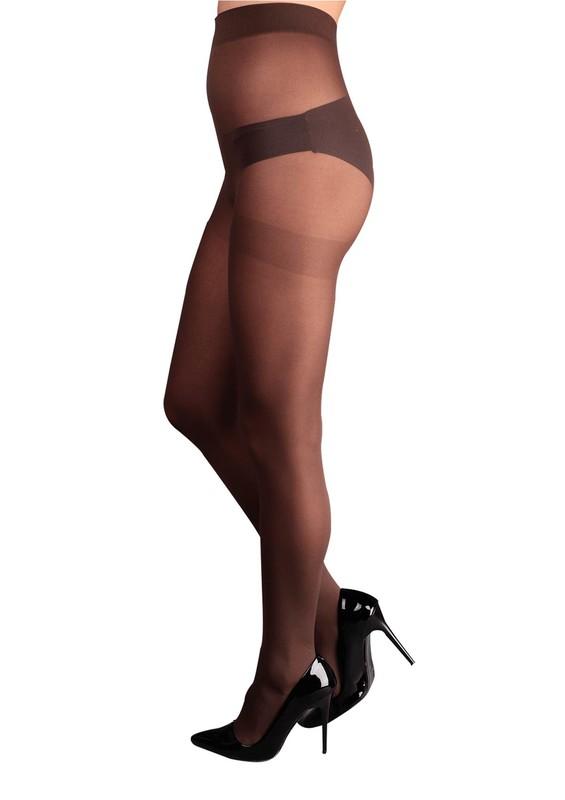 PENTİ - Penti Mus Opak Külotlu Çorap   Kahverengi