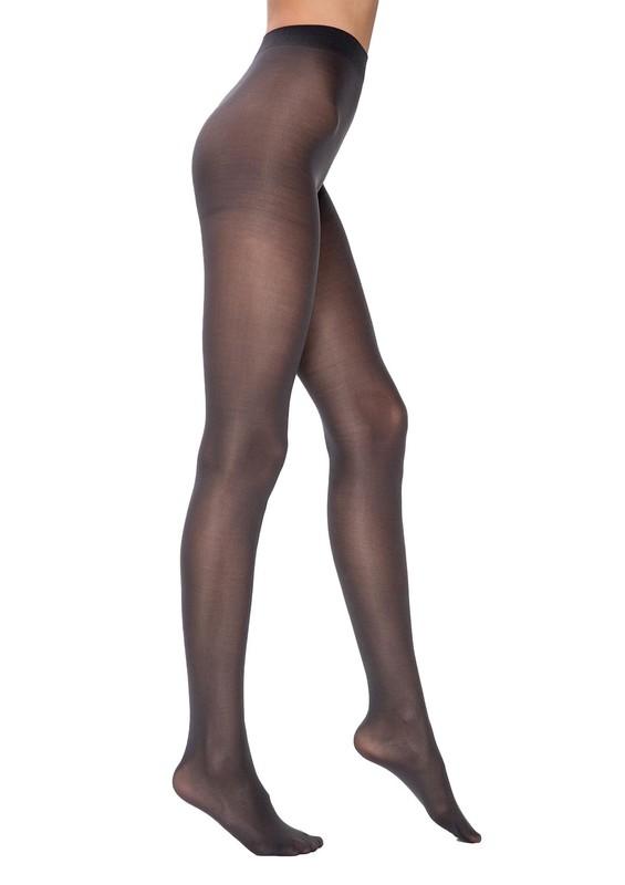 PENTİ - Penti Orta Kalın Mat Külotlu Çorap | Antrasit