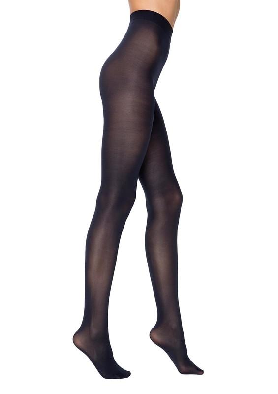 PENTİ - Penti Orta Kalın Mat Külotlu Çorap | Lacivert
