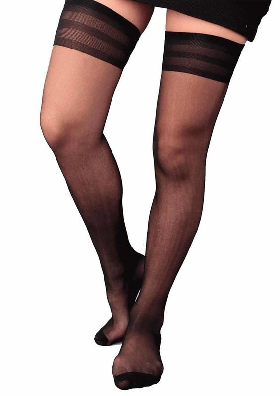PENTİ - Penti Süper İnce Diz Üstü Siyah Çorap | Siyah