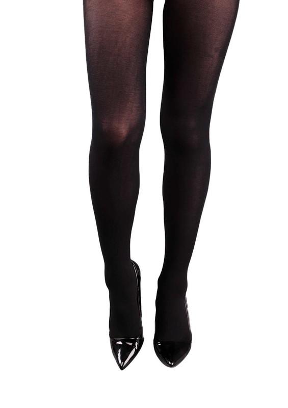 PENTİ - Penti Yüksek Bel Siyah Külotlu Çorap 356 | Siyah