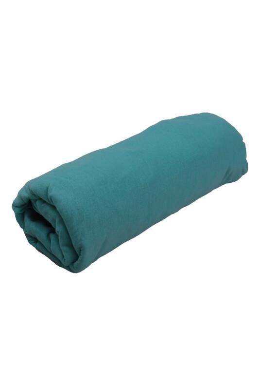 SİMİSSO - Penye Lastikli Çarşaf Çift Kişilik 160 x 200 cm   Bebe Mavi