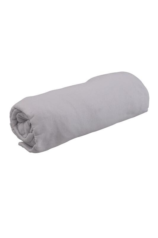 SİMİSSO - Penye Lastikli Çarşaf Tek Kişilik 100 x 200 cm   Beyaz