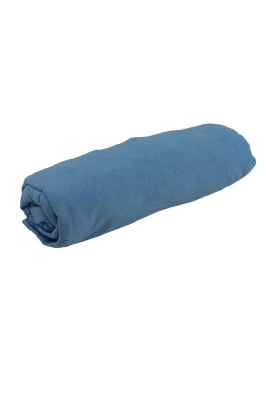 SİMİSSO - Penye Lastikli Çarşaf Tek Kişilik 100 x 200 cm   Mavi