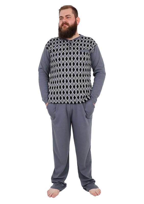 PERTAŞ - Pertaş Pijama Takımı 320 | Gri