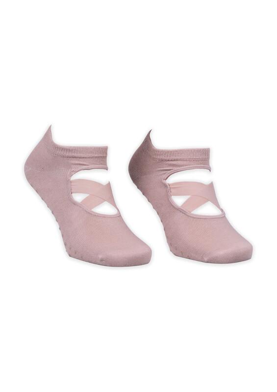 SAHAB - Pilates Çorabı | Ten