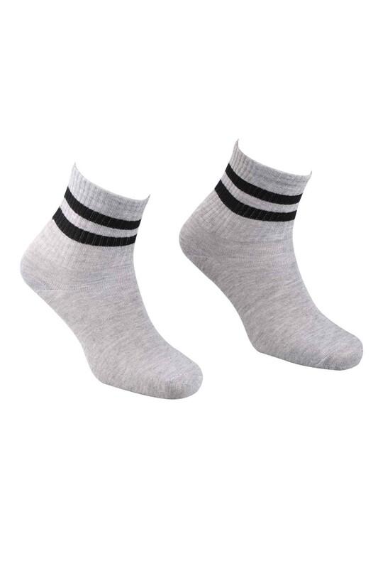 SİMİSSO - Pola Teenage Kadın Soket Çorap   Gri