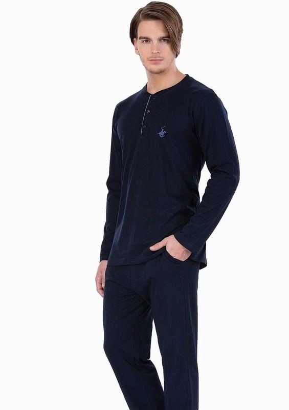 POLO CLUP - Polo Clup Pijama Takımı 881 | Lacivert
