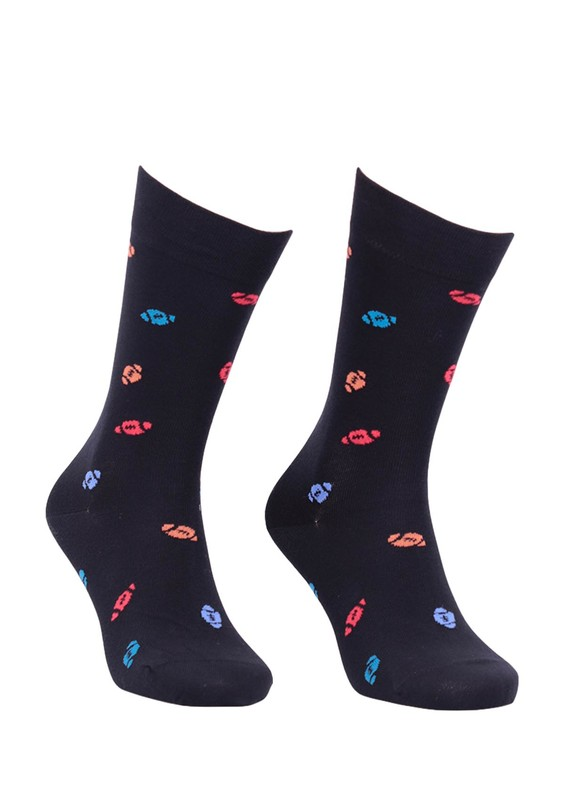 PRO - Pro Arısto Unisex Penye Çorap 11003   Siyah