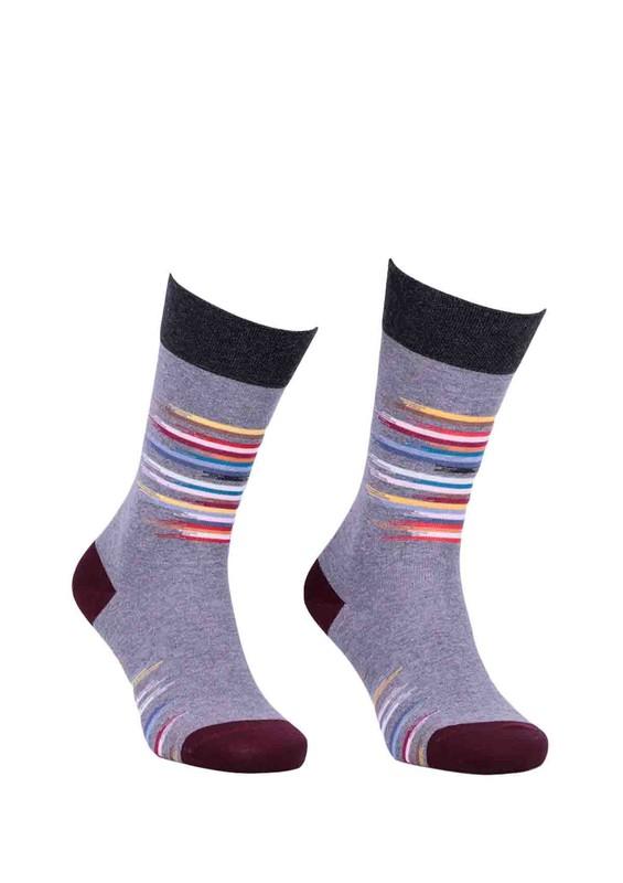 PRO - Pro Asbron Unisex Penye Çorap 11001 | Gri