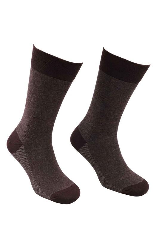 PRO - Pro Bambu Çorap 17620 | Kahverengi