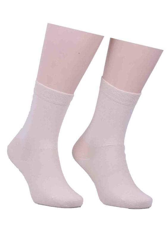 PRO - Düz Çorap 16409 | Krem