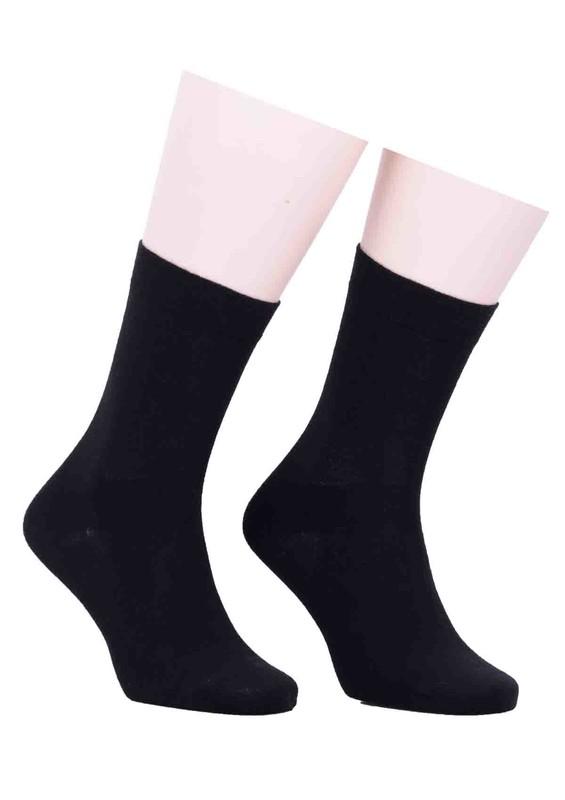 PRO - Düz Çorap 16409 | Siyah