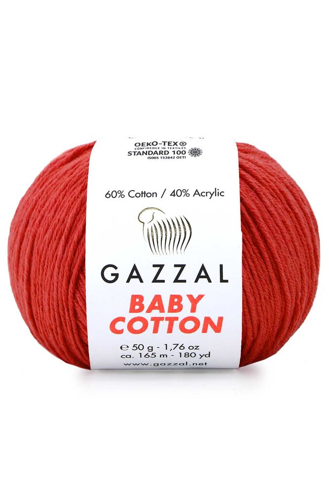 Пряжа Gazzal Baby Cotton 50гр./3418