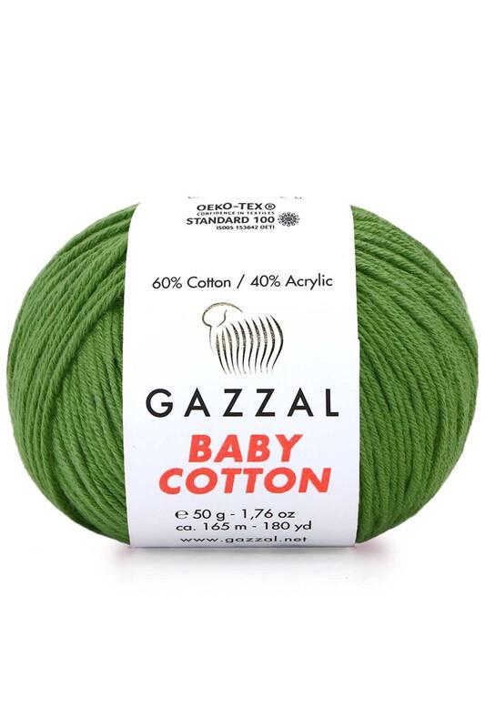 Gazzal - Пряжа Gazzal Baby Cotton 50гр./3449