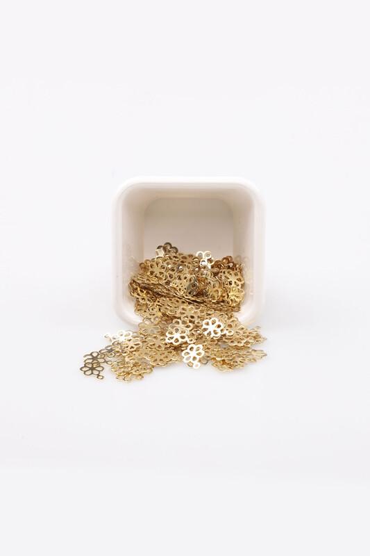 PULSAN - Pulsan Demir Pul Altın Çiçek 002 23 gr