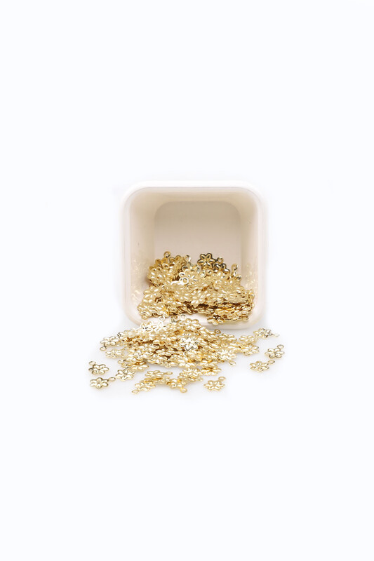 PULSAN - Pulsan Demir Pul Altın Kulplu Çiçek 007 23 gr