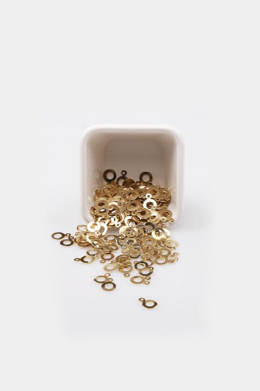 PULSAN - Pulsan Demir Pul Altın Kulplu Halka 008 23 gr