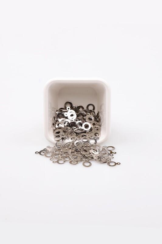 PULSAN - Pulsan Demir Pul Gümüş Kulplu Halka 024 23 gr