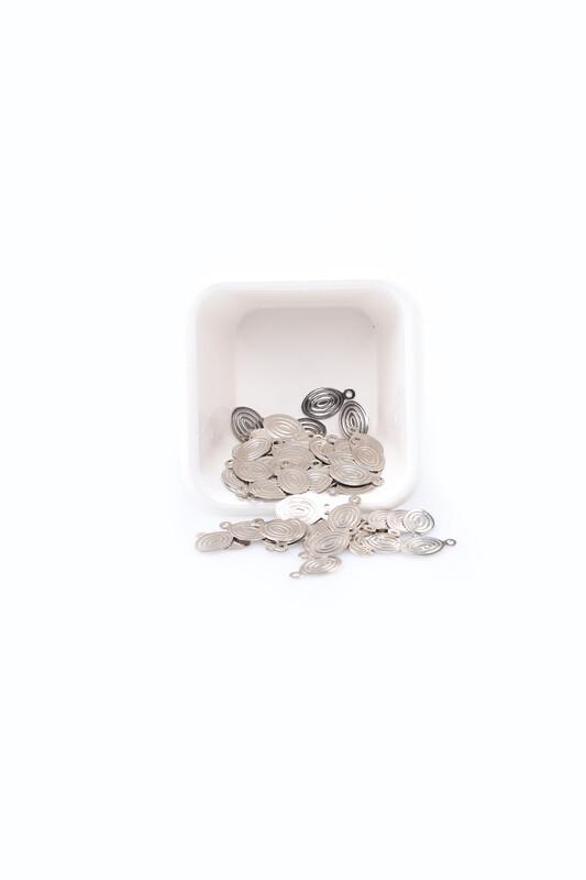 PULSAN - Pulsan Demir Pul Gümüş Oval 021 23 gr