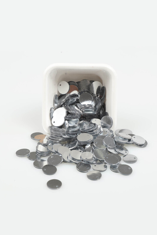 PULSAN - Pulsan Gümüş Pul Delikli Yuvarlak 006 20 gr