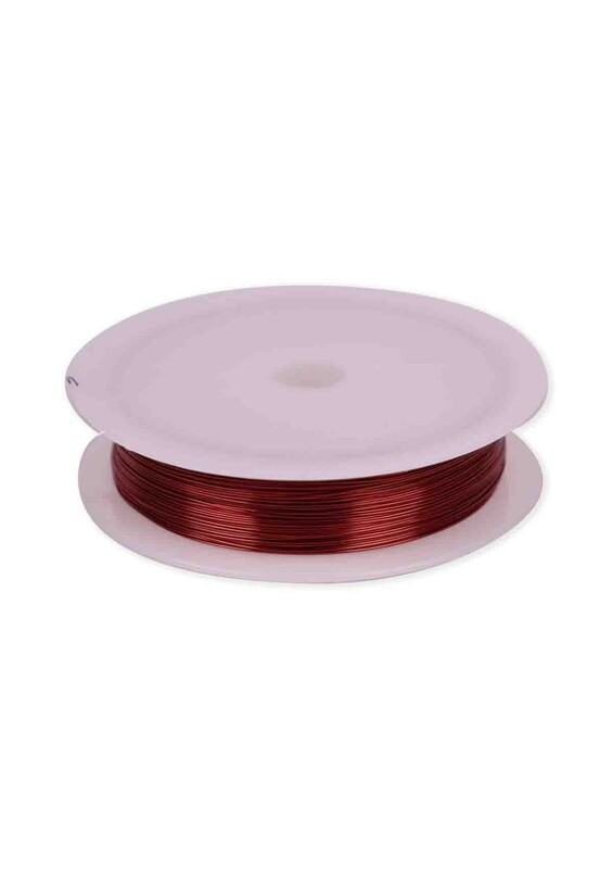 SİMİSSO - Renkli Çelik Tel 3 mm | Bakır