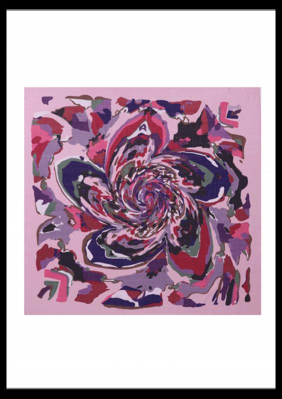 REYYAN - Reyyan Dikişsiz Desenli Yazma 100 cm 1093