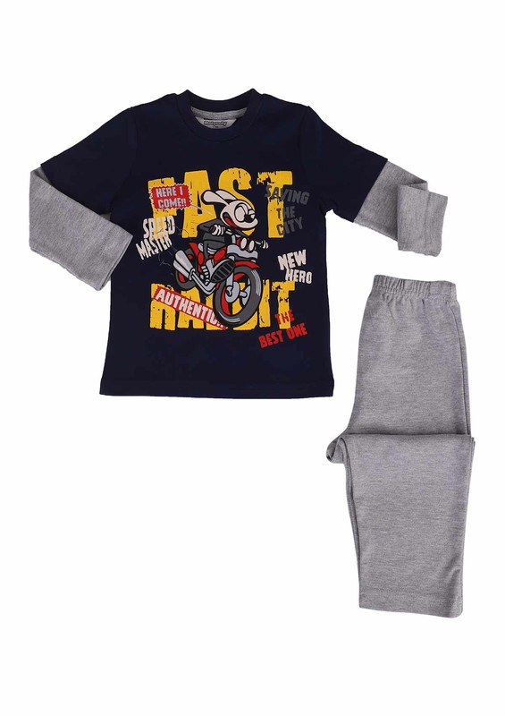ROLYPOLY - Rolypoly Pijama Takımı 560   Lacivert