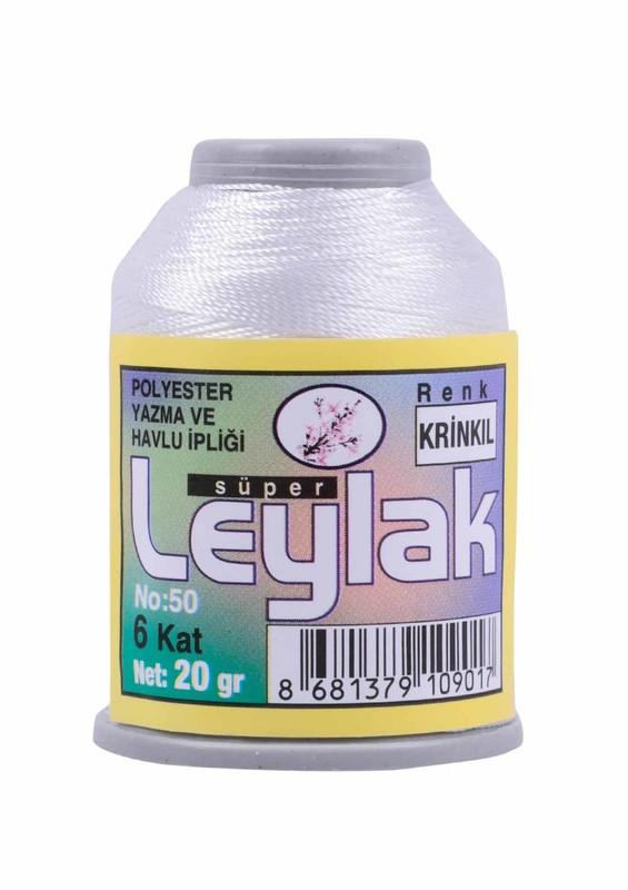 LEYLAK - Нить-кроше Leylak /бледно-белый