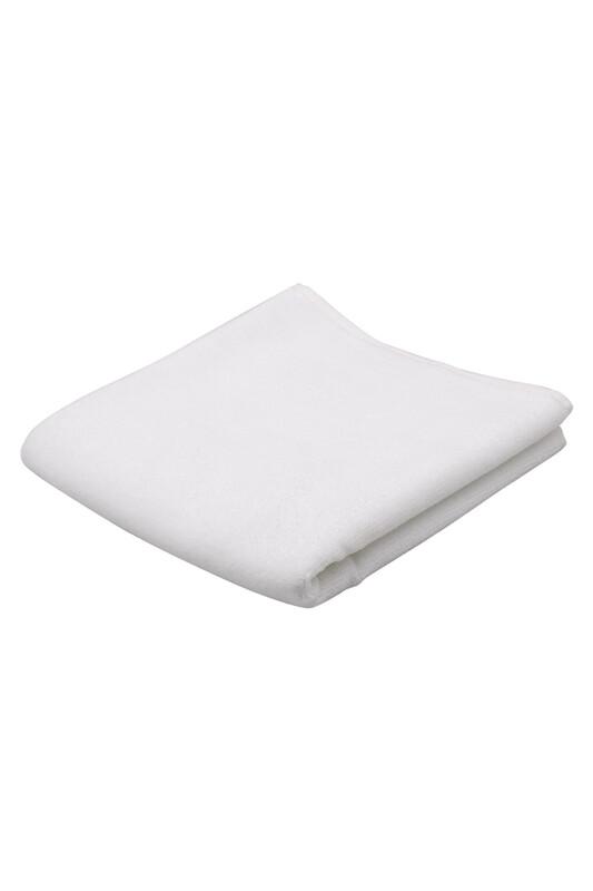 SİMİSSO - Düz Kadife Havlu 50*90 cm | Beyaz