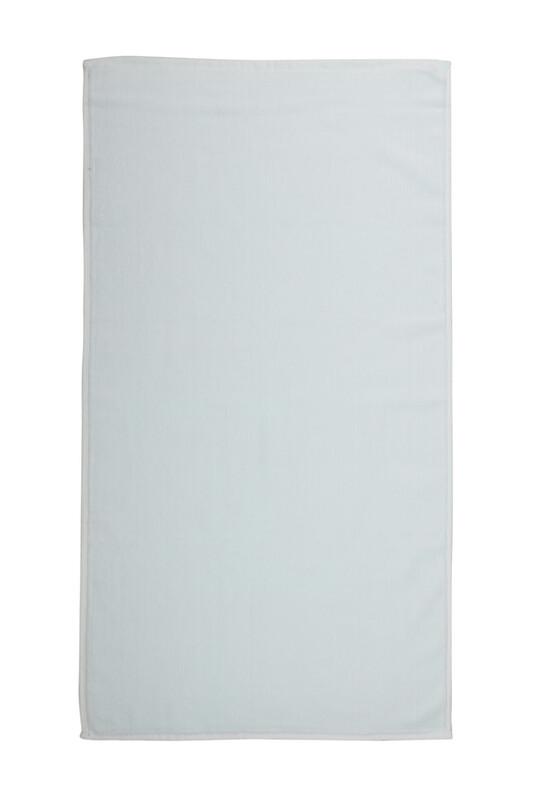 SİMİSSO - Düz Kadife Havlu 50*90 cm | Su Yeşili