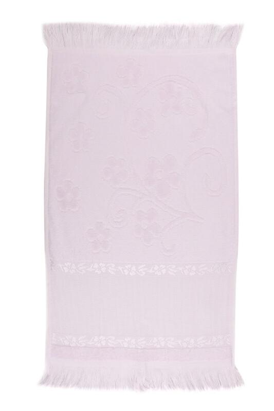 RÜYA - Rüya Pırıltı Saçaklı İşlemelik Havlu 30*50 cm   Lila
